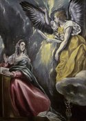El Greco - The Annunciation