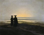 Caspar David Friedrich - Sunset (Brothers)