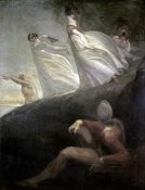 Henry Fuseli - The Ladies of Hastings