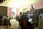 Henri Gervex - A Meeting of the Painting Jury