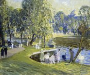 Arthur Clifton Goodwin - Public Garden, Boston