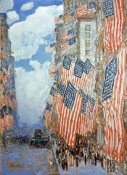 Frederick Childe Hassam - Fourth of July