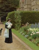Edmund Blair Leighton - The Lord of the Manor