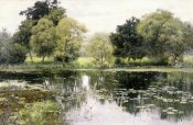Isaak Levitan - Water Lilies on a Pond