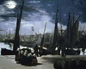 Edouard Manet - Moonlight over the Port Boulogne