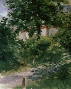 Edouard Manet - Path in the Rueil Garden