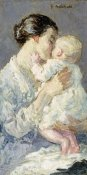 Gari Melchers - Julia Payne and Her Son Ivan