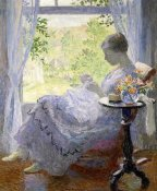 Gari Melchers - Young Woman Sewing