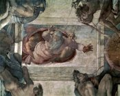 Michelangelo - God Separating the Waters