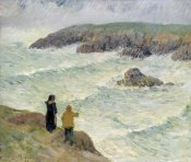 Henry Moret - The Cliffs Near the Sea