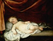 Bartolome Esteban Murillo - The Christ Child Asleep