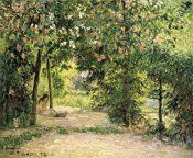 Camille Pissarro - The Garden in Springtime at Eragny