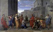 Nicolas Poussin - Christ and the Woman Taken in Adultery