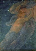 Gaetano Previati - Triptych of the Day
