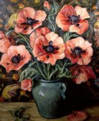 Henry Rand - Poppies, ca. 1940