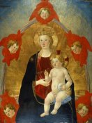 Cosimo Rosselli - Madonna and Child with Cherubim