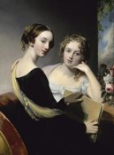 Thomas Sully - Portrait of the McEven Sisters