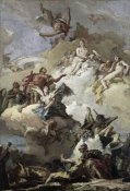 Giovanni Battista Tiepolo - Apotheosis of Aeneas