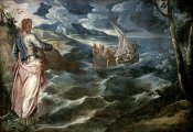 Jacopo Tintoretto - Christ at the Sea of Galilee