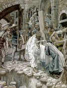 James Tissot - A Holy Woman Wipes the Face of Jesus