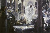 James Tissot - Christ Reproving the Pharisees