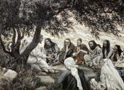 James Tissot - Christ's Exhortation To The Twelve Apostles