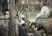 James Tissot - Jesus at Bethany