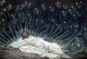 James Tissot - Jesus Ministered to by Angels