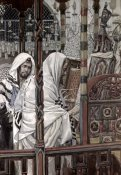 James Tissot - Jesus Teaching In The Synagogue