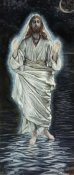 James Tissot - Jesus Walking on the Sea