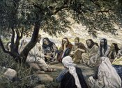James Tissot - The Sermon on the Mount: Christ's Exhortation to the Twelve Apostles
