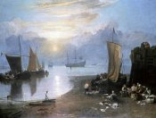 Joseph M.W. Turner - Sun Rising Through Vapor