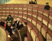 Felix Vallotton - Third Level at the Theatre in Chatelet