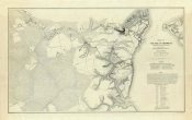 Henry L. Abbot - Civil War - Official Plan of The Siege of Yorktown Virginia, 1862