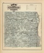 A.T. Andreas - Map of Houston County, Minnesota, 1874
