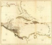 Aaron Arrowsmith - Composite: West Indies, 1810