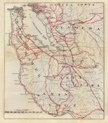 George W. Blum - California - San Mateo, Santa Cruz, Santa Clara, Alameda, and Contra Costa Counties, 1896
