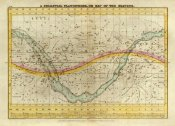 Elijah H. Burritt - A Celestial Planisphere, or Map of the Heavens, 1835