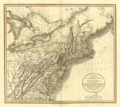 John Cary - New York, Vermont, New Hampshire, 1806