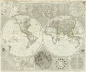 Samuel Dunn - Composite: World or Terraqueous Globe, 1787