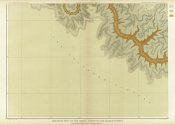 Clarence E. Dutton - Grand Canyon - Geologic Map of The Southern Part of The Kaibab Plateau (Part III. South-Western Sheet), 1882