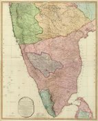 William Faden - Composite: India Peninsula, 1800