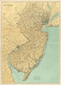 Geological Survey of New Jersey - New Jersey State Map, 1888