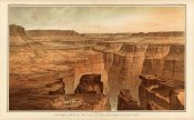 William Henry Holmes - Grand Canyon - Foot of the Toroweap looking East, 1882