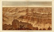 William Henry Holmes - Grand Canyon - Panorama from Point Sublime (Part II. Looking South), 1882