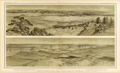 William Henry Holmes - Grand Canyon - Views looking east and south from Mt. Trumbull, 1882