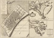Thomas Jefferys - New Orleans, Louisiana, 1759