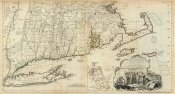 Thomas Jefferys - The Provinces of Massachusetts Bay and New Hampshire, Southern, 1776
