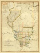 John Melish - Map of Illinois, 1820