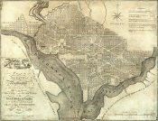John Reid - Plan of the City of Washington, 1795